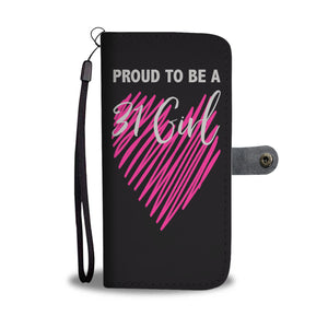 Proud To Be A 31 Girl Wallet Phone Case