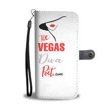 The Vegas Diva Poet Case In White