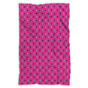 Bling Pattern Blanket Pink