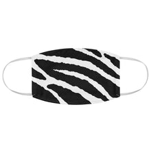 Load image into Gallery viewer, White and Black Tiger Stripes Printed Fabric Fashion Face Mask Animal Print