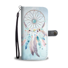 Watercolor Dream Catcher Design Wallet phone Case