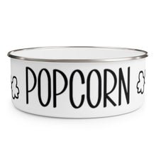 Load image into Gallery viewer, Enamel Popcorn Bowl With Lid