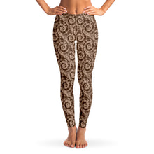 Load image into Gallery viewer, Brown Tie Dye Leggings XS - XL Squat Proof