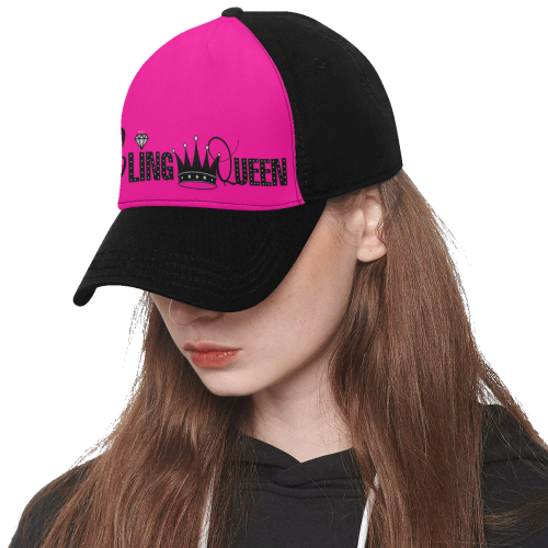 Bling Queen Hat Baseball Cap Paparazzi Consultant Swag