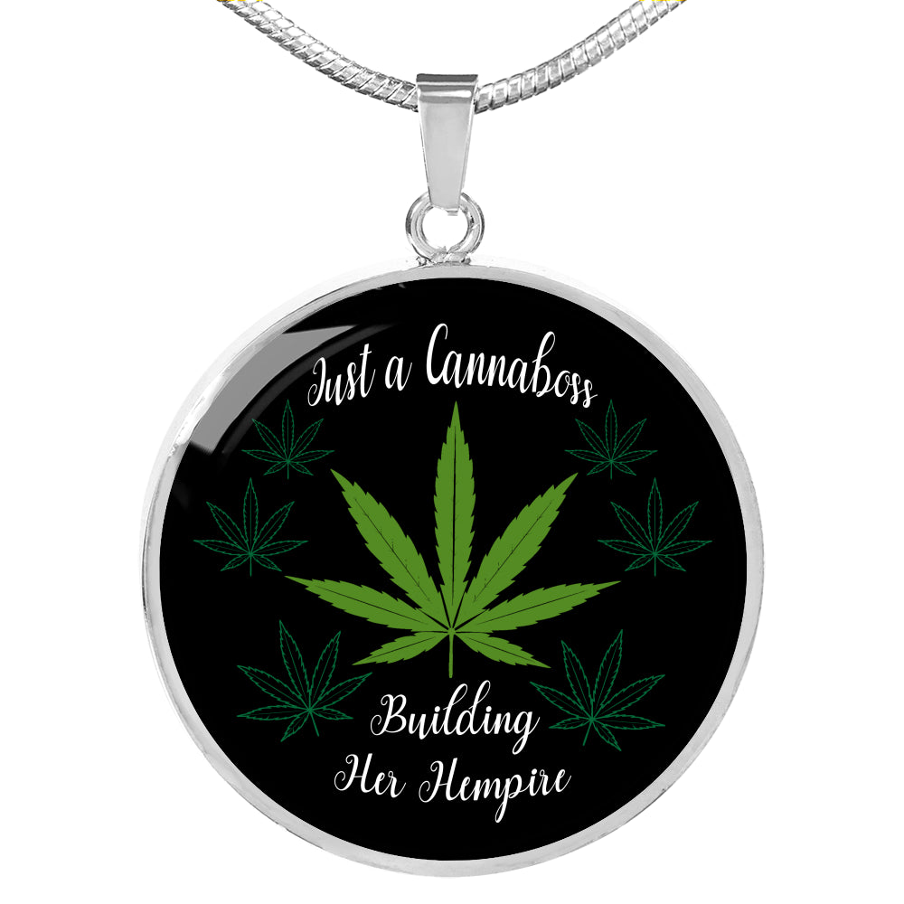 Just a Cannaboss Building Her Hempire CBD Necklace