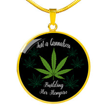 Load image into Gallery viewer, Just a Cannaboss Building Her Hempire CBD Necklace