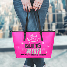 Bling Queen Pink Tote Bag Purse