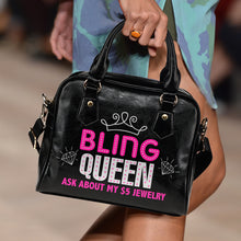 Load image into Gallery viewer, Ask About My $5 Jewelry Bling Queen Purse Handbag Bling Bag