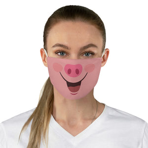 Pig Face Fabric Mask Printed Cloth Fashion Funny