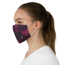Load image into Gallery viewer, Pink Galaxy Printed Cloth Fabric Face Mask Colorful Outer Space