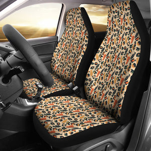 Jungle, Safari, Africa, Ethnic, Abstract Pattern Car Seat Covers