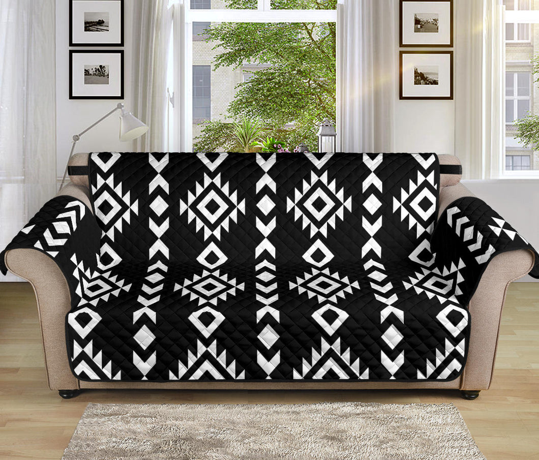 Black and White Ethnic Tribal Pattern 70