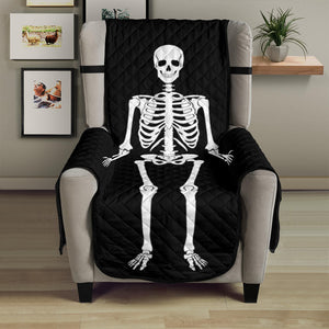 "Skeleton Armchair Slipcover Protective Cover Fits Up To 23"" Seat Width"