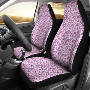 Pink With Watercolor Crystals Car Seat Covers
