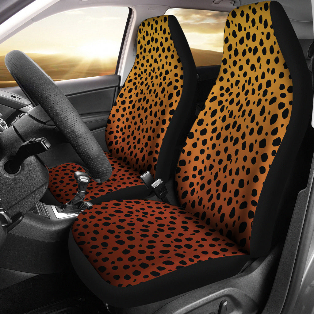 Cheetah Print Ombre Car Seat Covers Animal Print