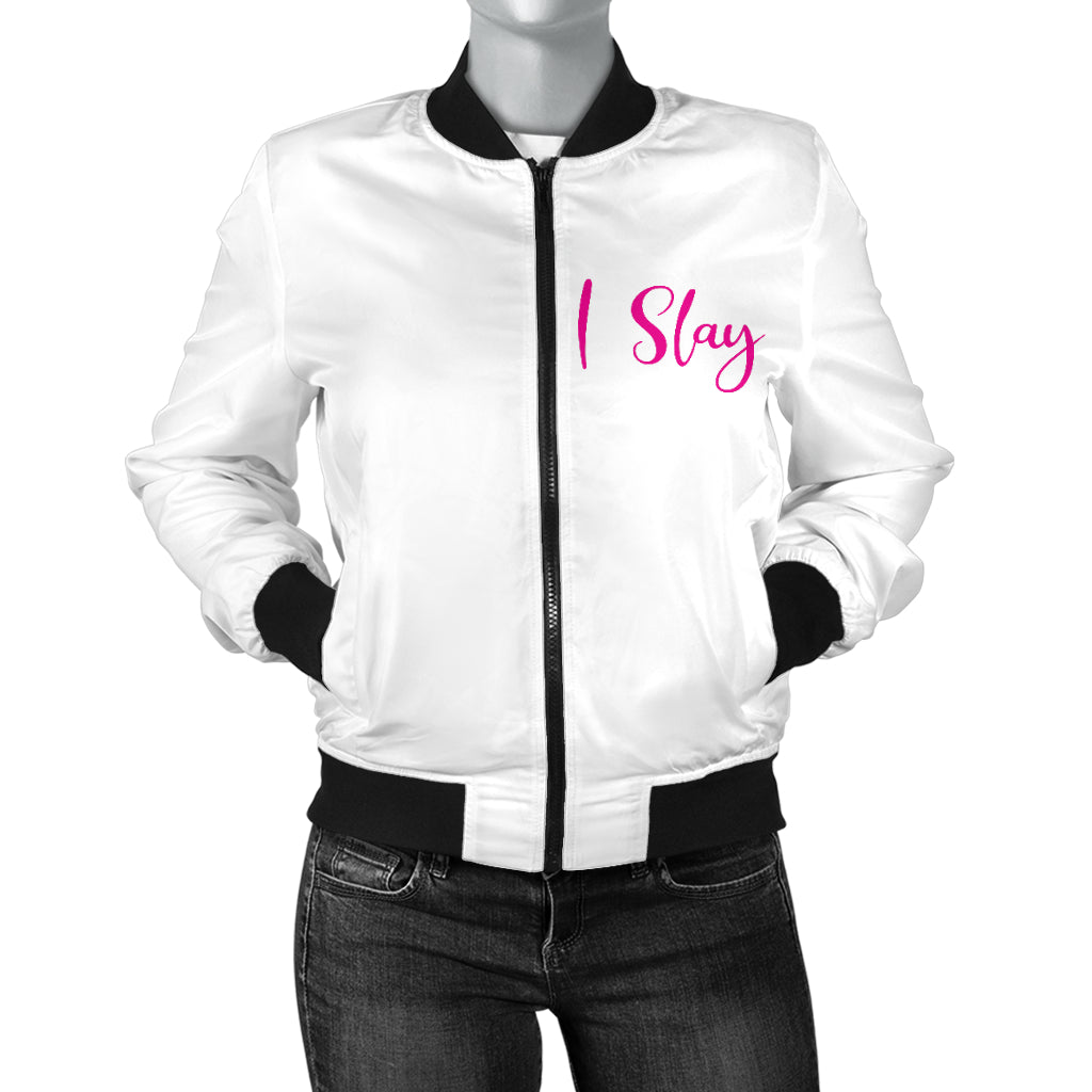 Unstoppable Women's Bomber White #teamunstoppable
