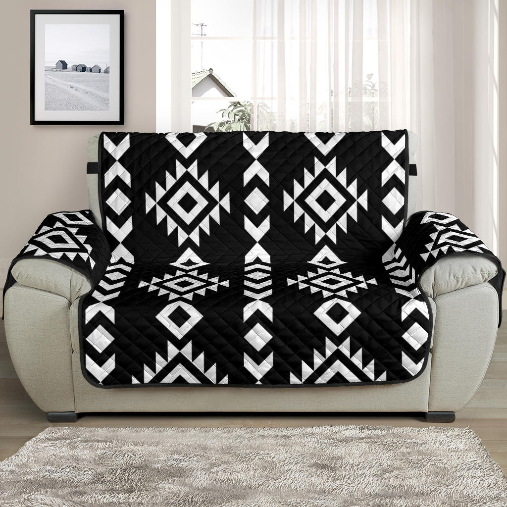 Black and White Ethnic Tribal Pattern on 48