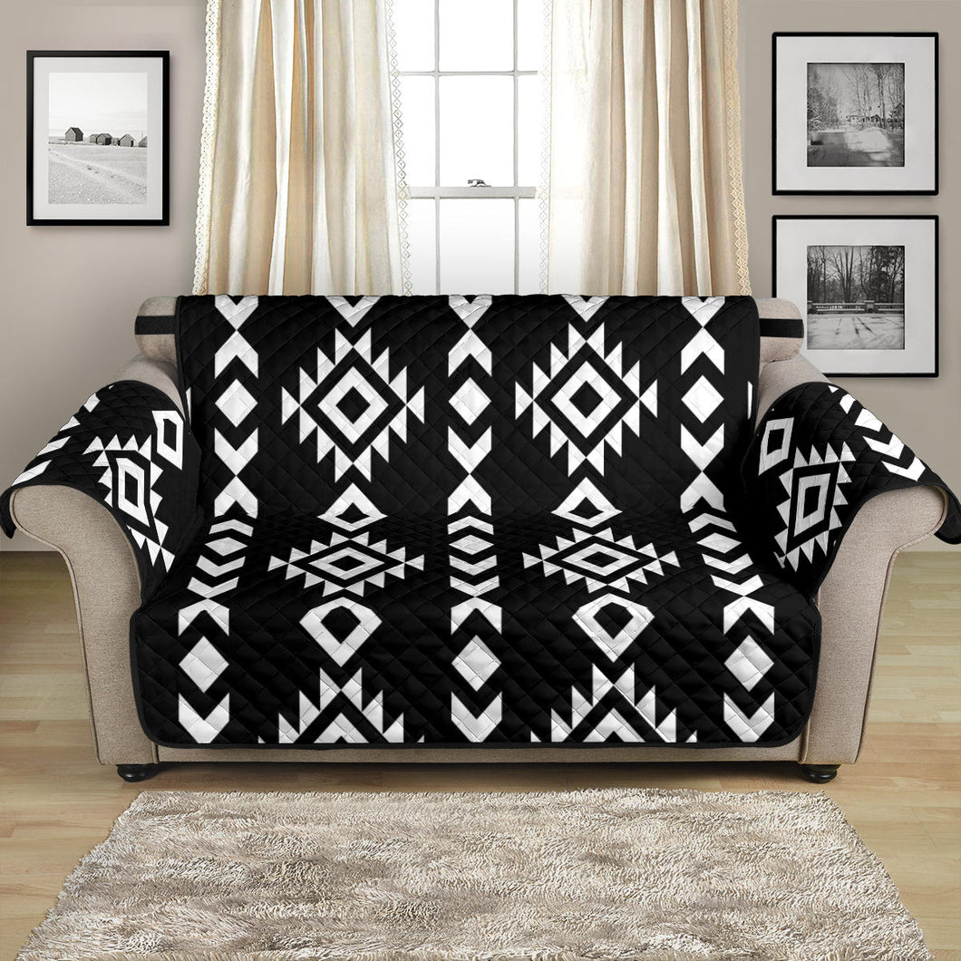 Black and White Ethnic Tribal Pattern 54
