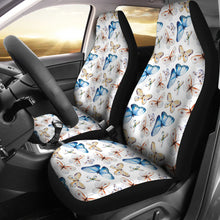 Load image into Gallery viewer, Watercolor Butterfly Seat Covers