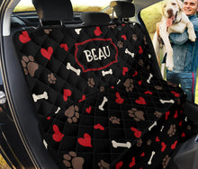 Load image into Gallery viewer, Beau Custom Back Seat Cover For Pets