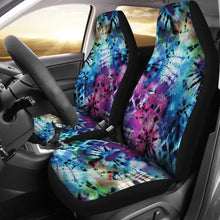 Load image into Gallery viewer, Rainbow Tie Dye Car Seat Covers