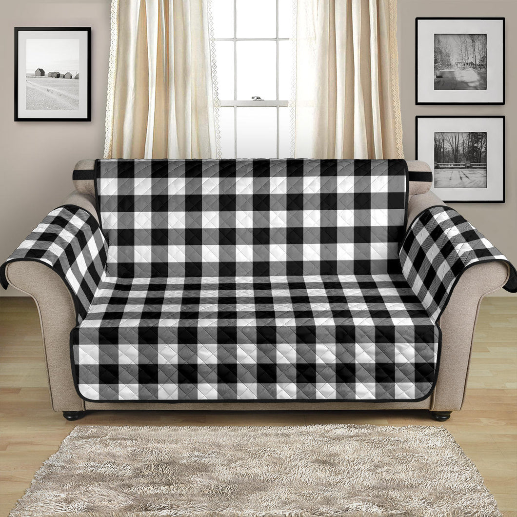 Black White Buffalo Plaid 54