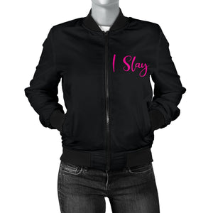 Lady T's Bling Bomber Black