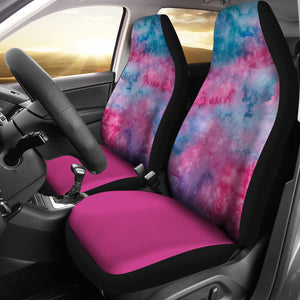Watercolor Pink Car Seat Covers