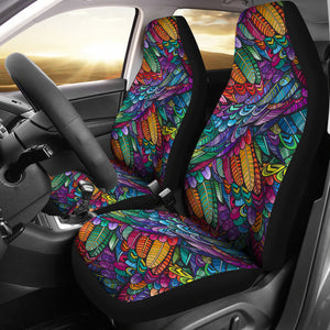 Boho Feathers Seat Covers