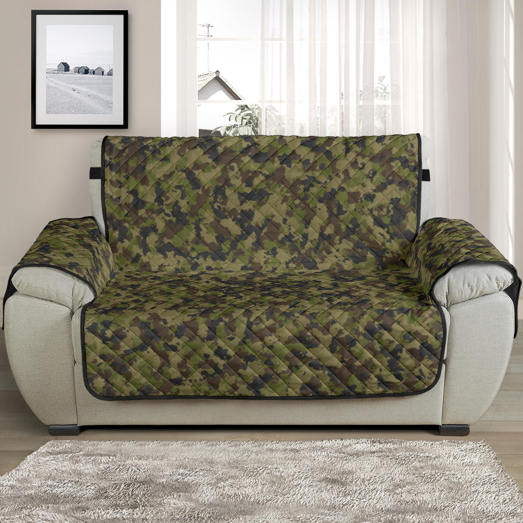 Camo Chair and a Half Protector Cover in Green, Brown and Gray, Camouflage 48