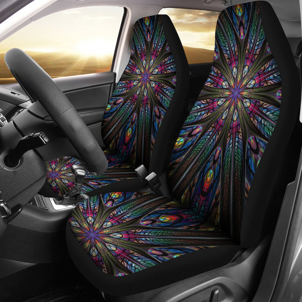 Tribal Pattern Car Seat Covers