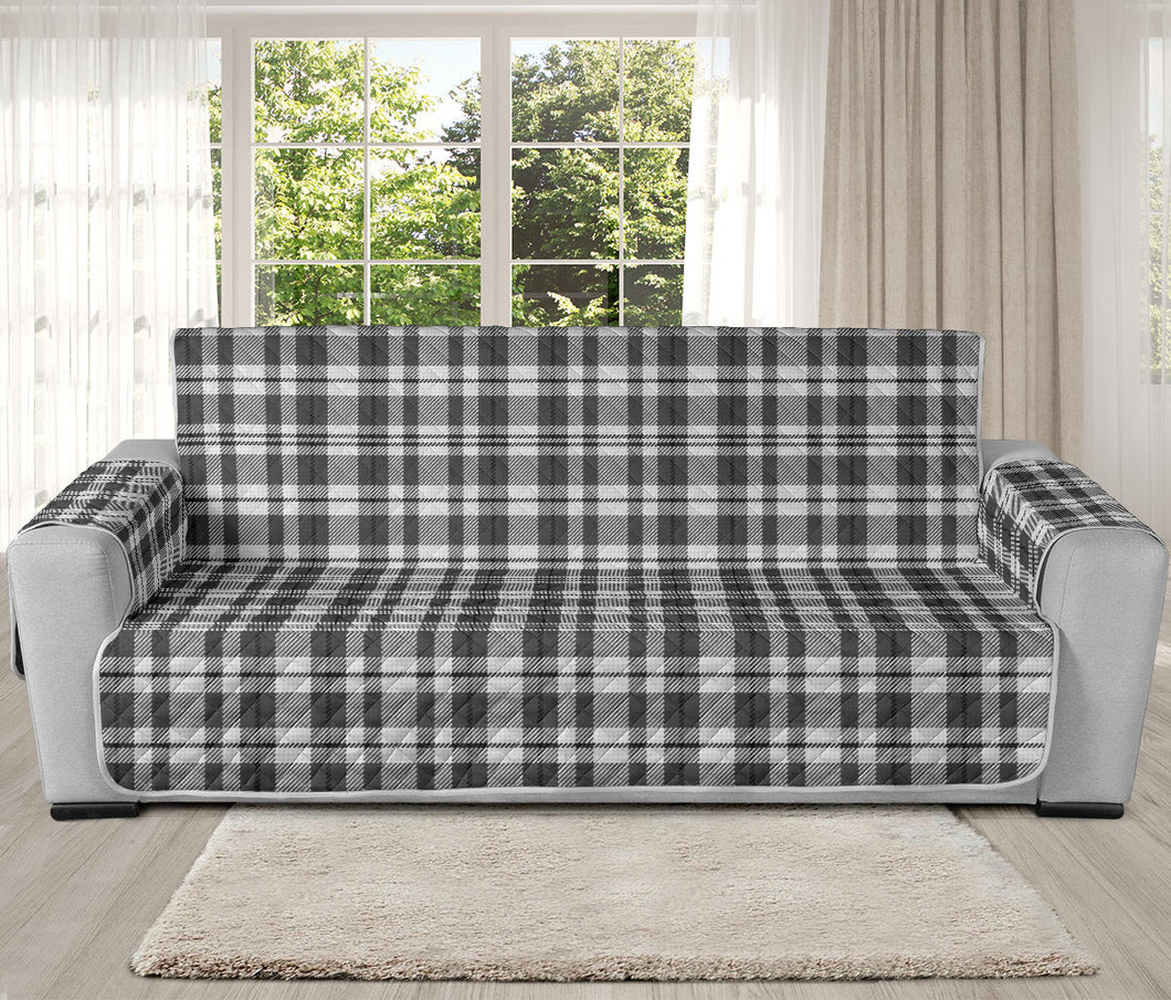 Gray and White Plaid Pattern On 78