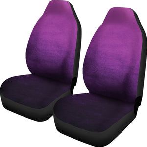 Purple Ombre Watercolor Car Seat Covers