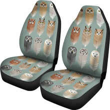 Load image into Gallery viewer, OWL SPIRIT CAR SEAT COVERS