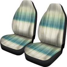 Load image into Gallery viewer, Green, Blue and Cream Tie Dye Car Seat Covers Seat Protectors