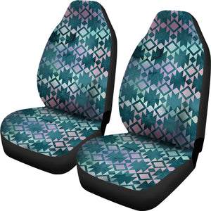 Aztec Ethnic Iridescent Car Seat Covers