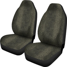 Load image into Gallery viewer, Olive and Black Snake, Reptile, Car Seat Covers, Skin, Scales