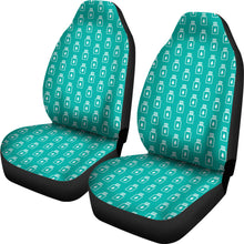 Load image into Gallery viewer, Turquoise Essential Oil Bottles Car Seat Covers