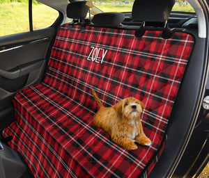 Zoey Custom Pet Car Bench Back Seat Cover