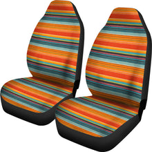 Load image into Gallery viewer, Mexican Serape Style Colorful Seat Covers Set