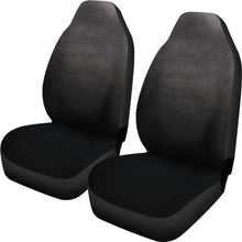 Load image into Gallery viewer, Charcoal Gray Ombre Watercolor Car Seat Covers