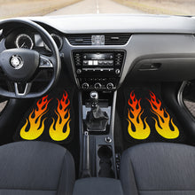 Load image into Gallery viewer, Flame Floor Mats Front Only Set of 2