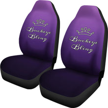 Load image into Gallery viewer, Buckeye Bling Car Seat Covers