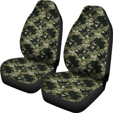 Load image into Gallery viewer, Skull Camouflage camo design car seat covers universal fit