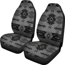 Load image into Gallery viewer, Sovereign Nation Gray Set of 2 Car Seat Covers