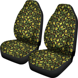 Avocado Pattern Car Seat Covers Seat Protectors