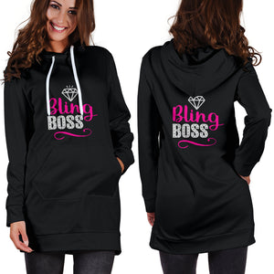Bling Boss Hoodie Dress For Paparazzi Consultants