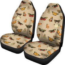 Load image into Gallery viewer, Vintage Moths and Butterflies Car Seat Covers