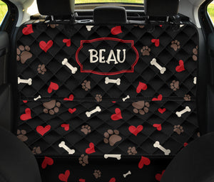 Beau Custom Back Seat Cover For Pets