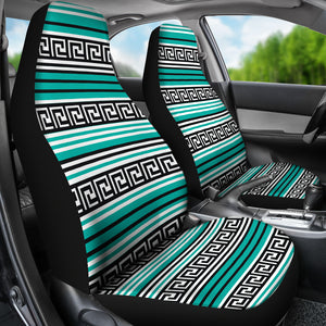 Turquoise Tribal Pattern Car Seat Covers Ethnic Boho